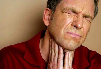 Чем эффективнее можно помазать горло