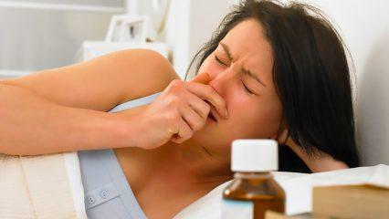 Если появился кашель при гайморите