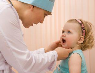 Как проявляется и лечится тонзилломикоз у ребенка