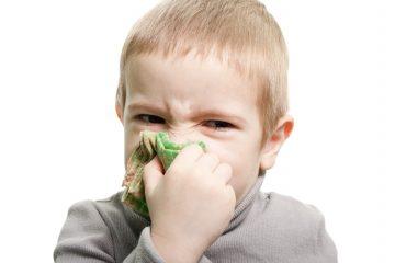 Причины появления у ребенка соплей из одной ноздри