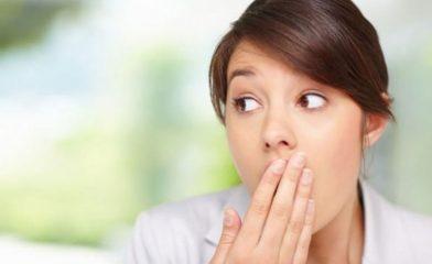 Как можно убрать запах изо рта?