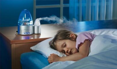 Покупка ультразвукового увлажнителя воздуха для детей: вред и польза прибора