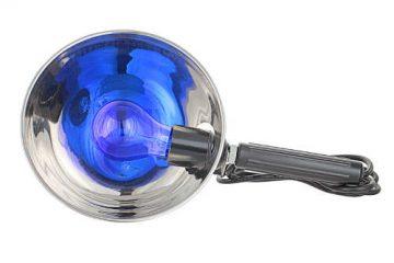 Как применять синюю лампу для лечения?