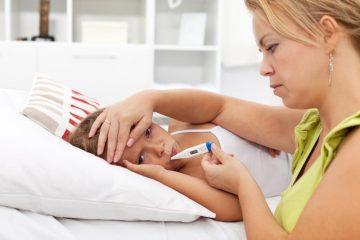 Что делать если у ребенка кашель температура понос