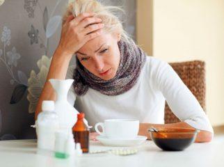 Что кушать больному при простуде?