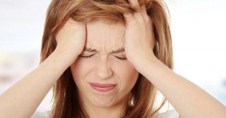 Почему болит голова в лобной части?