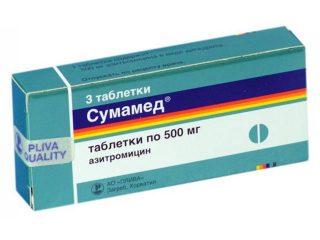 Лечение пневмонии Сумамедом