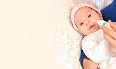 Как вылечить насморк двухмесячному ребенку?