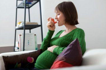Лечение бронхиальной астмы у беременных