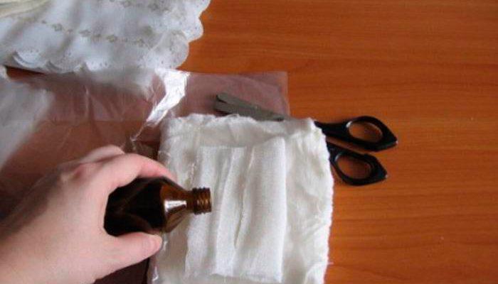 Как сделать компресс с мазью вишневского