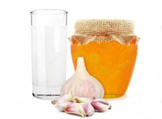 Молоко с чесноком и медом