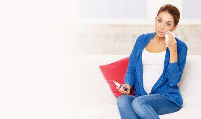 Как снять отек носа при беременности?