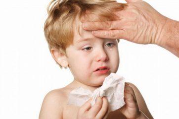 У ребенка сопли, понос и температура