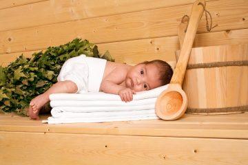 У ребенка после бани температура