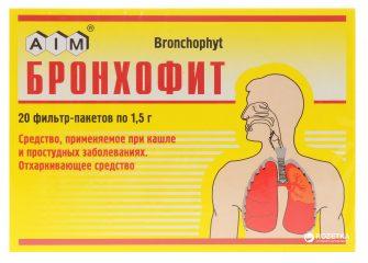 Инструкция по применению чая и настойки Бронхофит