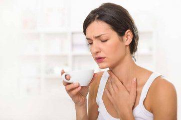 Почему болит горло от холодного?