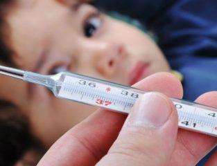 У ребенка субфебрильная температура: что делать?