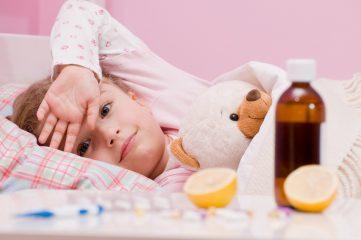 Что делать, если ребенок заболел ОРВИ?