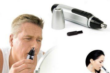 Как можно убрать волосы в носу?