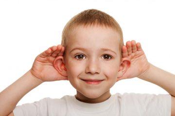 Нарушения слуха детей школьного возраста