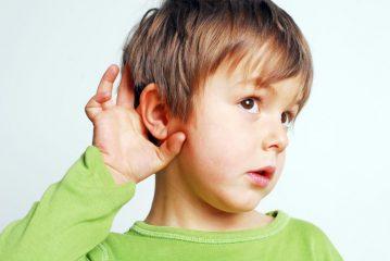 Патология органов слуха у детей