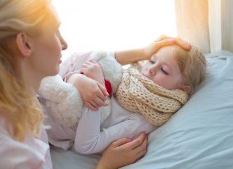 Дифтерия гортани у детей