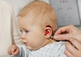 Диагностика детей с нарушением слуха