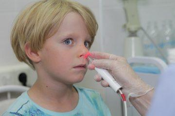 Лечение лазером ЛОР-органов