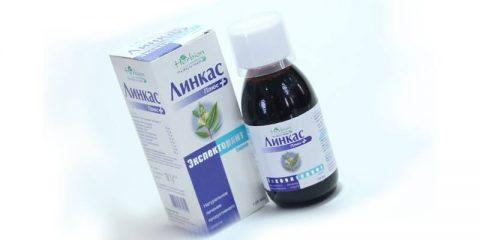 Инструкция по применению сиропа от кашля Линкас: как использовать популярный препарат?