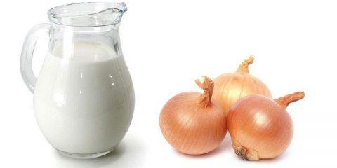 Лучшие рецепты молока с луком от кашля и для лечения бронхита