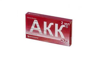 Инструкция по применению каплей АКК: особенности использования и терапевтические свойства