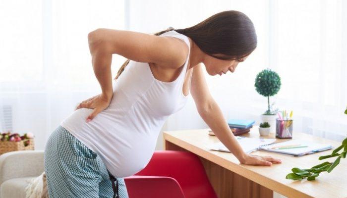 Когда чихаю болит низ живота при беременности